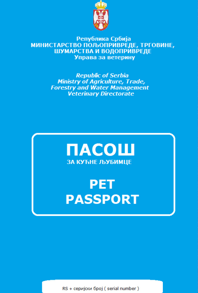 Novi pasoš za kućne ljubimce